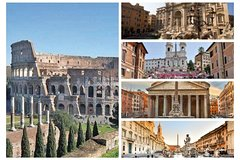 Exclusive Package Tour: Colosseum, Trevi & other Fountains , Lunch &Transfers!