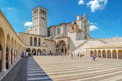 Day trip to Assisi and Orvieto from Rome