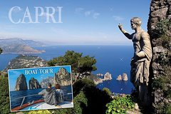Capri Private Day Tour from Rome with Private Island boat tour