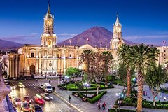 Imagen Departure Private Transfer Arequipa Arequipa City to Airport AQP in Business Van
