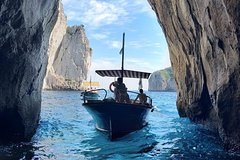 Capri Private Boat Tour from Capri (2 hours)