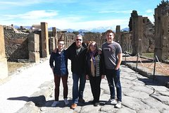 Pompeii & Herculaneum Trip from Rome with Hotel Pick Up & Skip-the-