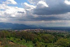 Trekking on Roma hills