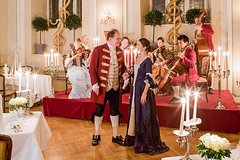 Mozart Concert and Dinner in Baroque Hall of St Peters Abbey in Salzburg