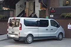 Transfer Taxi + water taxi: Venice - Venice Airport Marco Polo [up to 8 person]