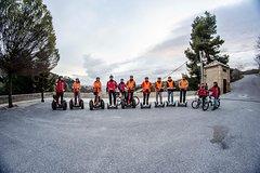 Imagen Alhambra sin colas junto con Albaicín y Sacromonte en Segway o bicicleta