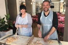 Walking tour of Rome and a Pasta Making Class in a Very Small Group