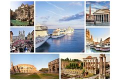 Shore Excursion: Best of Rome by Car, Colosseum & Civitavecchia Transfers!