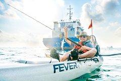 Kayak Fishing in Singapore Big Boat Small Boat Tour