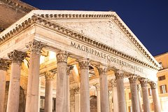 Child Friendly Evening Tour of Rome Must-see Sites with Gelato & Pizza