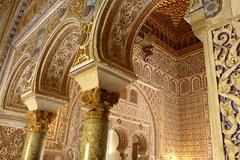 Imagen Excursão guiada pelo Alcázar de Sevilha para grupos pequenos