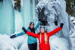Jasper Canadian Rockies 3-Hour Maligne Canyon Ice-walk from Jasper 5400P4