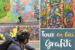 Imagen Half-Day Graffiti-Bike Tour: La Candelaria & Graffiti District