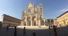 Siena Combo: Highlights Of Siena & Local Street Food Walking Tour