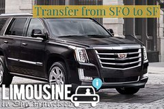 Private Airport SUV VIP Transfer from or to SFO to San Francisco