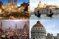 Tour of Italy, Rome Florence Pisa Venice Pompeii Calabria Naples