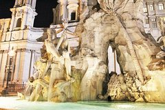 Kid-friendly Night Tour of Rome with Gelato and Pizza