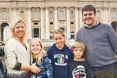 Budget-Friendly Vatican Tour for Kids with Sistine Chapel & St Peter's Basilica