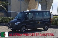 Private minivan Arrival or Departure Transfer: Algiers ALG Airport