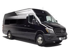 New York City Airport Departure Transfer by Luxury Sprinter Van 1-13 Passengers