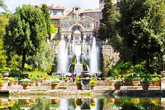 Rome to Tivoli Tour with Hadrian & D'Este Villas, Hotel Pickup & Private Guide