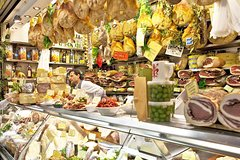 Florence: San Lorenzo Farmers Market Food Tour with Wine Tasting & Sightseeing