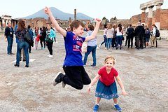Semi-Private Tour of Pompeii Ruins for Kids & Families with Child Friendly Guide
