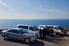 Private transfer from Rome to Sorrento plus 2-3 hrs stop