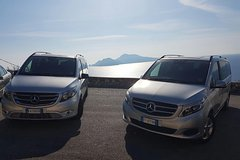 Exclusive Private transfer from Rome to Positano plus 2-3 hrs stop