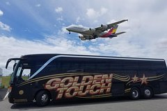 New York City NYC Airport Express Bus Roundtrip Transfer