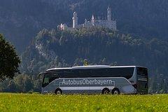 Salir de la ciudad,Excursiones de un día,Castillo de Neuschwanstein,Con visita a Linderhof,Tour por los Castillos,Bus turístico