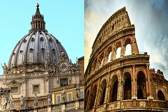 1 Day Skip-The-Line Morning Vatican & Afternoon Colosseum Small Group T