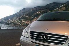 Transfer Naples to Positano with stop en route to visit Pompeii ruins