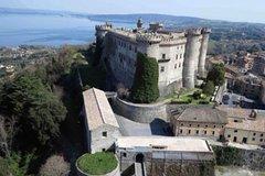 Bracciano Santa Severa and the Imperial Baths from the port of Civitavecchia