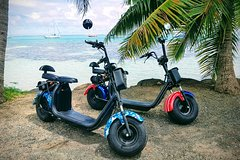 rent your 100% electric scooter and discover the landscapes of Moorea