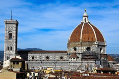 Duomo Florence walking tour with Dome climb small group semi private tour
