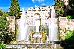 Villa D'Este and Wine Tasting in Castel Gandolfo Private Tour with Driver