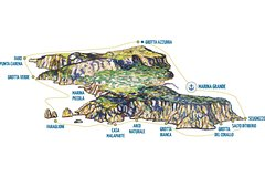 Island Tour with stop by Blue Grotto (Yellow Line)