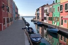 Guided Tour of Murano, Burano & Torcello Islands around Venice with Pri