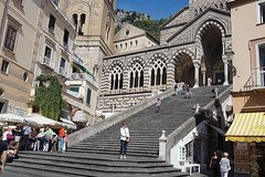 From Naples: Sorrento and Amalfi Coast with lunch