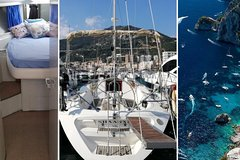 Sleep + tour package : 1 night onboard + Amalfi Coast private boat tour