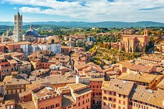 Full day to San Gimignano, Siena and Chianti with lunch and wine tasting