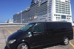 Shared Transfer From the Civitavecchia Port to Rome