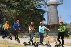 Electric Scooter Tour Golden Gate Park to Ocean Beach & Windmills