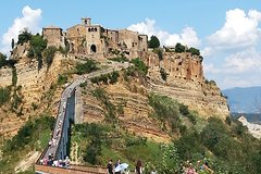 "From Civitavecchia Orvieto and the dying City "" Civita di Bagnoregio"""