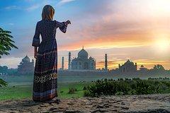 2 Days Taj Mahal & Agra City Tour from Delhi by Train