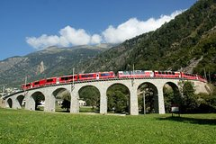 Around Milan: Bernina Express 1 Day Individual Excursion