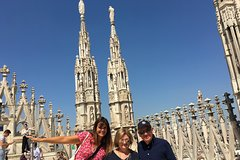 Milan Duomo Cathedral Rooftop Tour including La Scala Opera House and Bapti