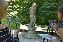 Plein air painting in Milan!