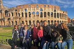 Skip-the-Line Family Colosseum & Roman Forum Tour with Kid-Friendly Act